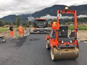 Straßenbau im Oberland